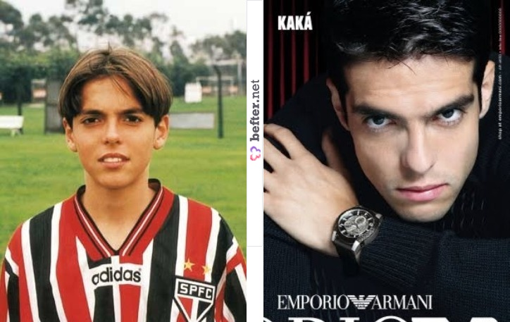 Kaka - before and after