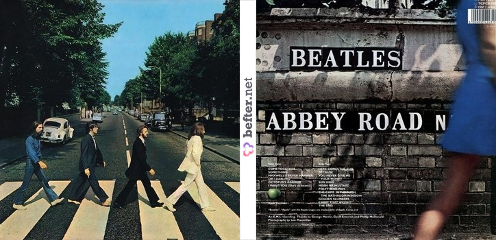 Pics For > Abbey Road Album Cover Back