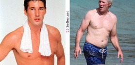 Richard Gere - before and after or younger and older! (image hosted by befter.net)
