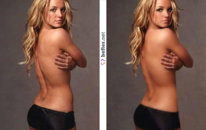 Before And After Photoshopped Celebrities. efore and after photoshop