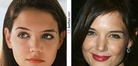 Katie Holmes nose job | Before and After