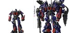 Optimus Prime Powe Up Concept | Before and After