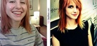 Paramore Hayley Williams - makeup miracles | Before and After