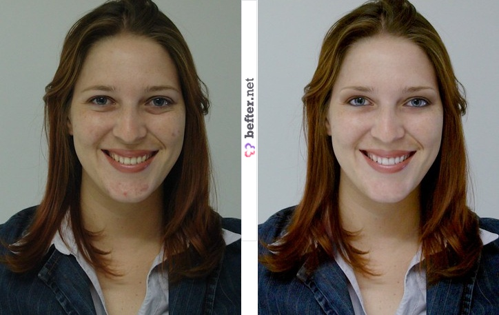 digital makeup | Before and After