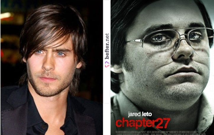 Jared Leto 30 quilos a mais. | Before and After