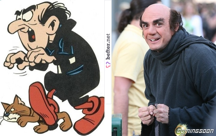 Gargamel Smurfs | Before and After