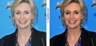 Jane Lynch Before and After Photoshop  | Before and After